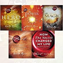 Rhonda Byrne Secret Series 5 Books Collection Set - (Hero,The Power ,The Magic,The Secret,How The Secret Changed My Life: ...