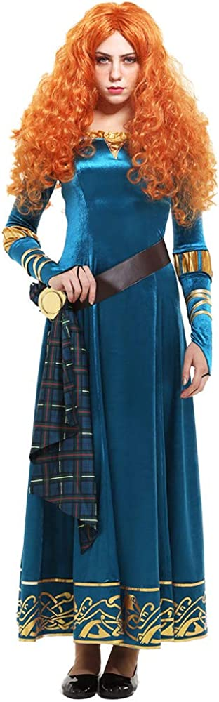 2021 miccostumes Women's Princess Merida Cosplay Adult 70% OFF Outlet Costume Dress