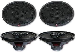 "4 x Rockford Fosgate R169X3 6x9 3-Way Car Audio Coaxial Speakers 6"" x 9"" photo"