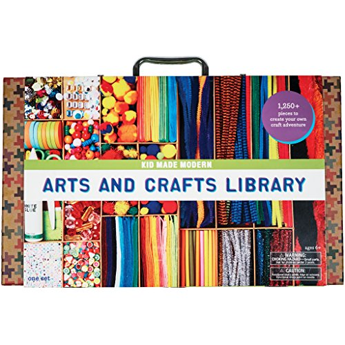 Kid Made Modern Arts And Crafts Library Set - Kid Craft...