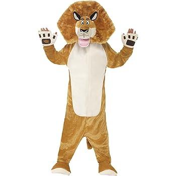 Smiffys Alex el león - Madagascar - Childrens Disfraz - Pequeño ...