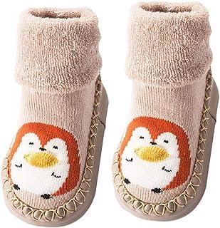 1 Pair Children Infant Non-Slip Floor Socks Toddler Girl Boy Shoes Socks Cotton Knitting Soft Soles Baby Socks