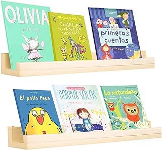 Kit | Set de 2 repisas libreros Flotante Montessori