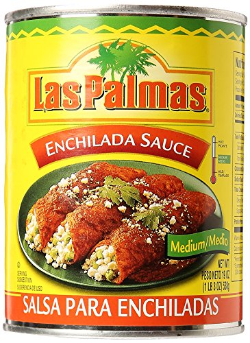 Las Palmas Red Enchilada Sauce, Medium, 19 oz