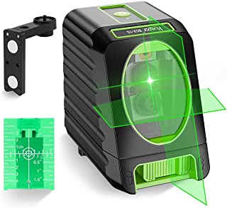 Huepar BOX-1G Green Laser Level with Pulse Mode, 0.2mm Pro Accuracy, Switchable Cross Line Self-Leveling Line Laser, Large...