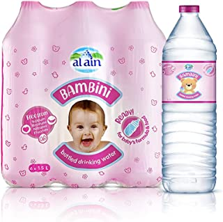 Al Ain Bambini Bottled Drinking Water for Babies - 1.5 litres (Pack of 6)