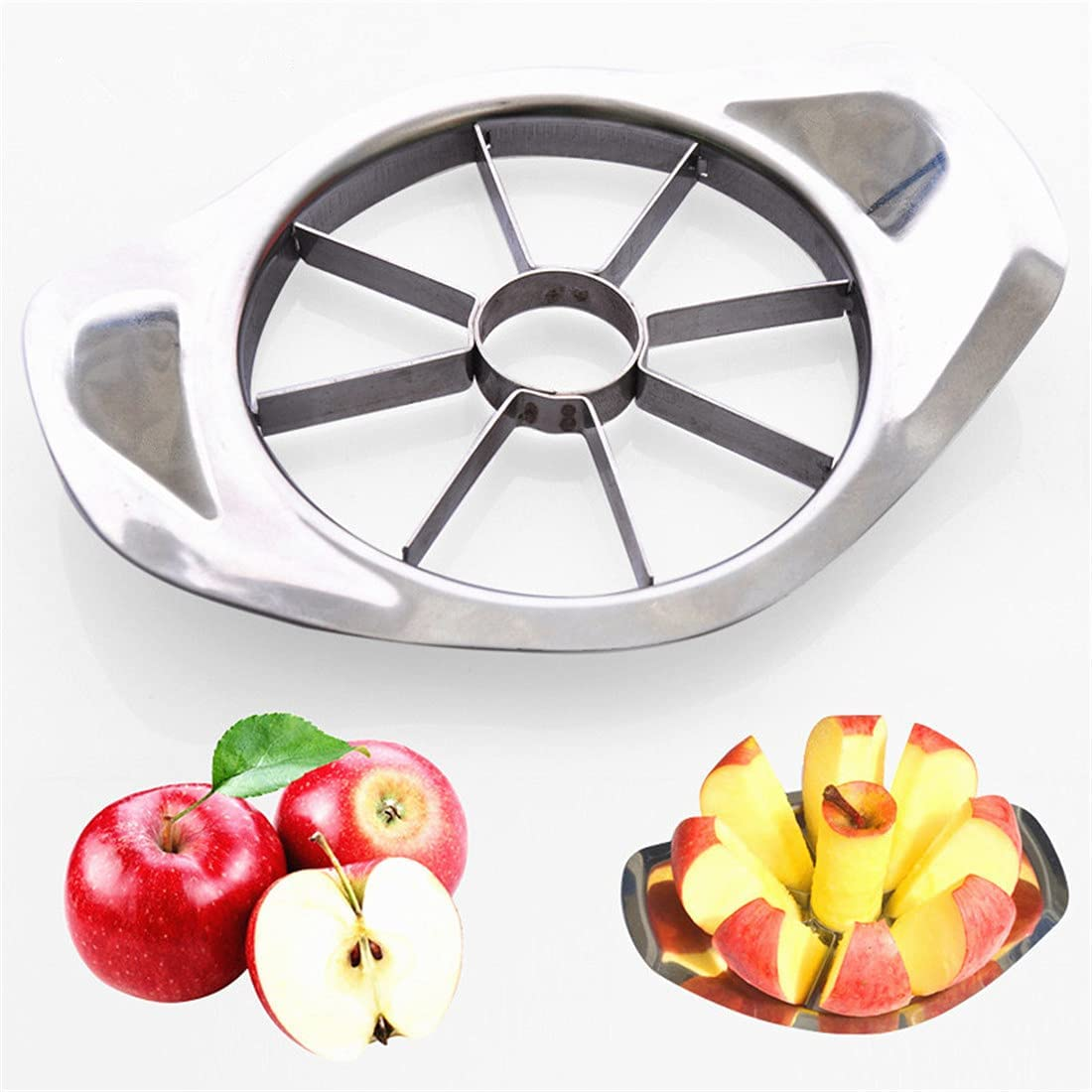 Factory outlet Stainless Steel Fruit Cutter Rare Apple Corer Slicer Co Knife Cutting