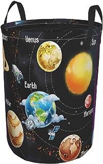 ZOMOY Grand Organiser Paniers pour Vêtements Stockage,Système Solaire des planètes Voie lactée Neptune Vénus Illustration ...
