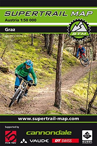 Supertrail Map Graz: Maßstab 1:50 000