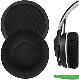 Geekria Comfort Velour Replacement Ear Pads for Sennheíser Urbanite XL Over-Ear Headphones Earpads, Headset Ear Cushion Re...