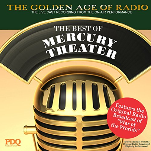 The Best of Mercury Theater with Orson Welles audiobook cover art