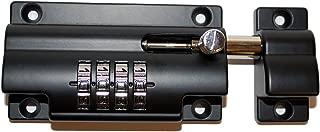 vault lock combination bolt lock black