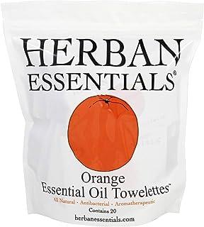 ハーバンエッセンシャルズ HERBAN ESSENTIALS アロマタオル オレンジ 20包