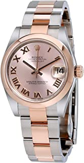 Datejust 31 Pink Dial Steel and 18K Rose Gold Oyster Ladies Watch 178241PRO