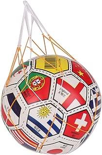 GREATLOVE 5Pcs Single Loaded Soccer or Basketball Woven Net Bag