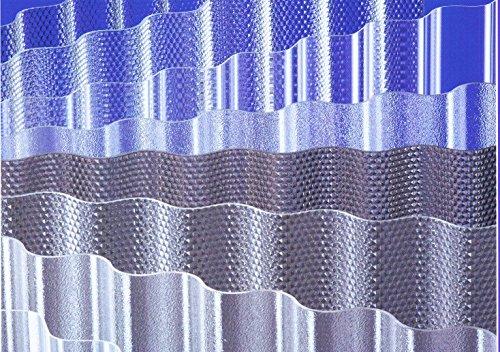 ACRYL - Lichtplatten Profil 76/18 Sinus - Wabe bronze - 4000 x 1045 x 3,0 mm (EUR 24,90/qm) Mindestbestellwert: Euro 100,00