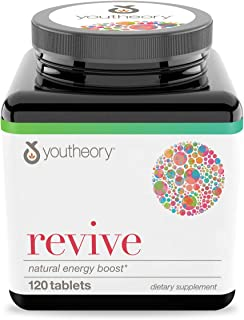 Youtheory Revive Advanced, 120Count (1 Bottle) (RX.00320.US)