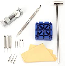 Foraineam 15-Piece Watch Repair Kit, Watch Band Link Remover Repair Fix Kit Spring Bar Tool Set