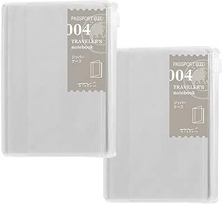 トラベラーズノート リフィル ジッパー 2冊パック パスポートサイズ 14316006