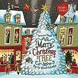 Merry Christmas Tree Pop-Up Advent Calendar: (Books for Family Holiday Games, Christmas Tree Advent Calendar)