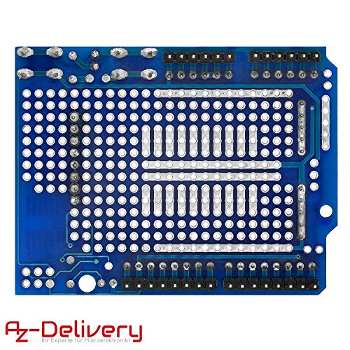 AZDelivery Prototyping Prototype Shield Mini Breadboard kompatibel mit Arduino inklusive E-Book!