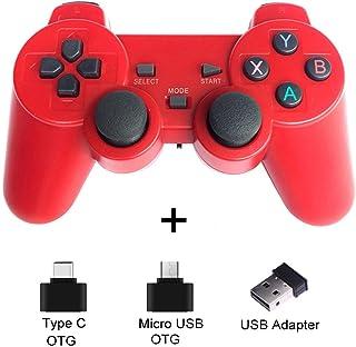 XYXZ Gamepad Controller Joysticks Gamepad Gamepad Inalámbrico Para Teléfono Android / Pc / Ps3 / Tv Box Joystick 2.4G Joyp...