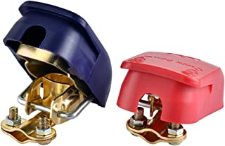 EnRise Schnellverschluss 12V/24V Batterie Polklemmen Batterieklemmen Steckverbinder(1 Paar)