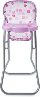 """Manhattan Toy Baby Stella Blissful Blooms High Chair First Baby Doll Play Set for 15"""" Dolls"""