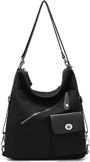 Suweir rucksacktasche Damen 2 in 1 Handtasche Schultertasche Rucksack Taschen Canvas groß für Reise Outdoor Arbeit Alltag ...