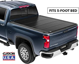 Gator FX Hard Quad-Fold Truck Bed Tonneau Cover | 8828426 | fits 2016-2020 Toyota Tacoma 5' bed | Made in the USA