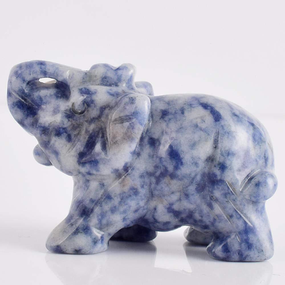 HTRN Animales para jardín Figurines para jardín 2 Pulgadas Figuras de Elefantes artesanía Tallada Elefante Mini Animales Estatua para decoración del hogar: Amazon.es: Hogar