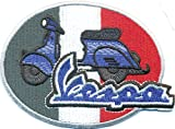 VESPA Italien Fahne Motorrad Moped Vintage Classic Biker Aufnäher Patch Abzeichen