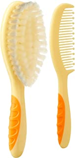 NUK Comb and Brush Set, Assorted (Pack of 2)