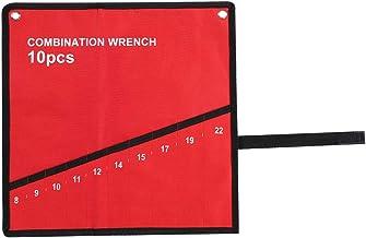 Fdit en sida verktyg bältespåse flera fickor rulla upp verktyg förvaring förstärkta fickor väska spännare tänger skiftnyck...