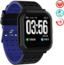TwobeFit Fitness Tracker, Activity Tracker Smart Watch with 1.3