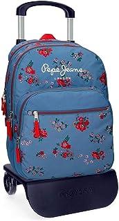 Pepe Jeans Pam Zaino 44 cm, 23.9 Multicolore