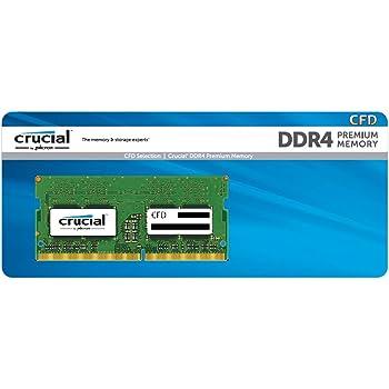 CFD販売 ノートPC用メモリ PC4-19200(DDR4-2400) 8GB×1枚 / 260pin / 無期限保証 / Crucial by Micron / D4N2400CM-8G