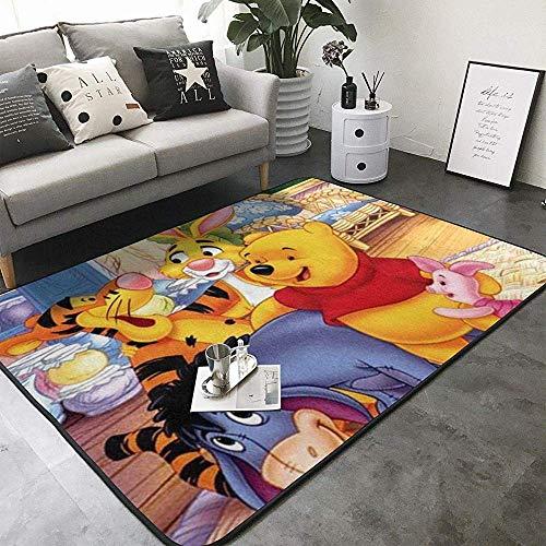 Super Suave Interior y Exterior Moderno Winnie The Pooh y alfombras de Cerdito, Adecuado para niños Dormitorio