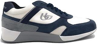 Blu Byblos Sneacker da Uomo Camoscio e Tessuto 682055 Blu Bianco o Bianco Jeans. Scarpa dal Design Raffinato. Collezione P...
