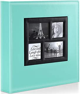 Ywlake Photo Album 4x6 1000 Pockets Photos, Extra Large Capacity Family Wedding Picture Albums Holds 1000 Horizontal and Vertical Photos Pictures Teal