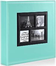 آلبوم عکس Ywlake 4x6 800 عکس جیبی ، ظرفیت فوق العاده بزرگ خانواده آلبوم های عکس عروسی 800 عکس افقی و عمودی عکس های Teal را در خود جای داده است