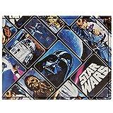 Cartera de Star Wars Original Trilogy Azul
