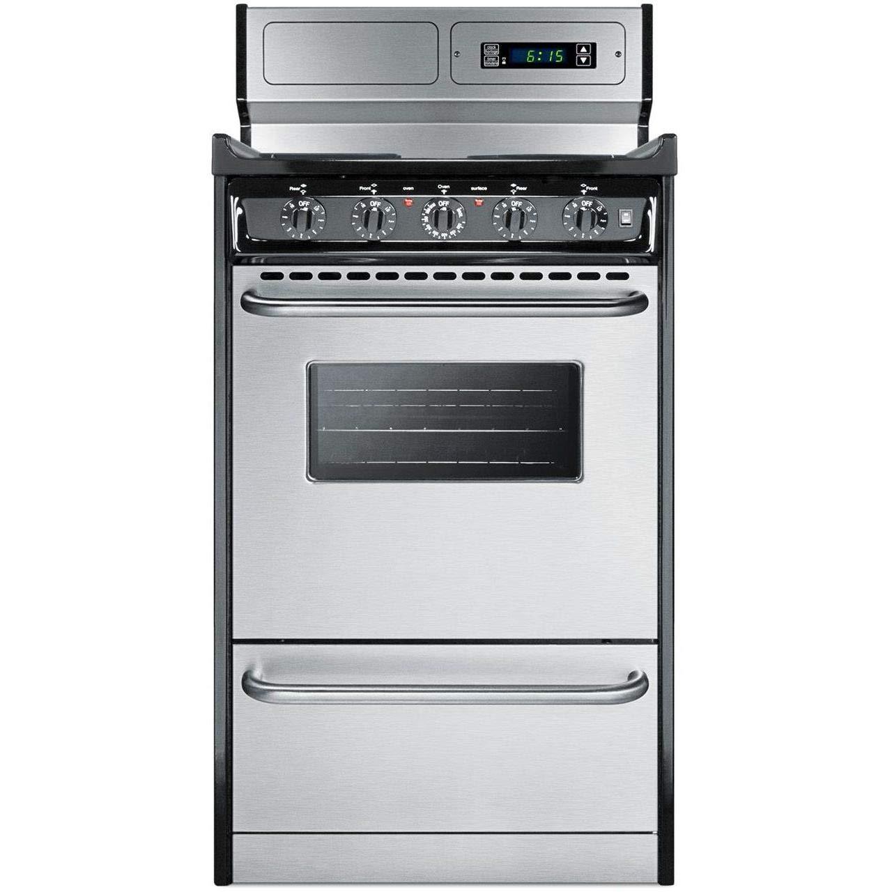 Amazon Com Summit Appliance Tem130bkwy Kitchen Cooking Range Stainless Steel Appliances