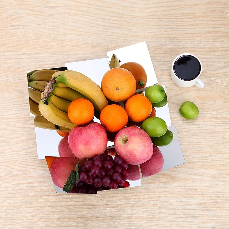 XL_FRUIT XL_Corbeilles à Fruits Panier de Fruits créatif à la Maison de Fruits Bols Vider Le Panier de Stockage de Fruits, Support Simple Moderne de Fruits d'acier Inoxydable