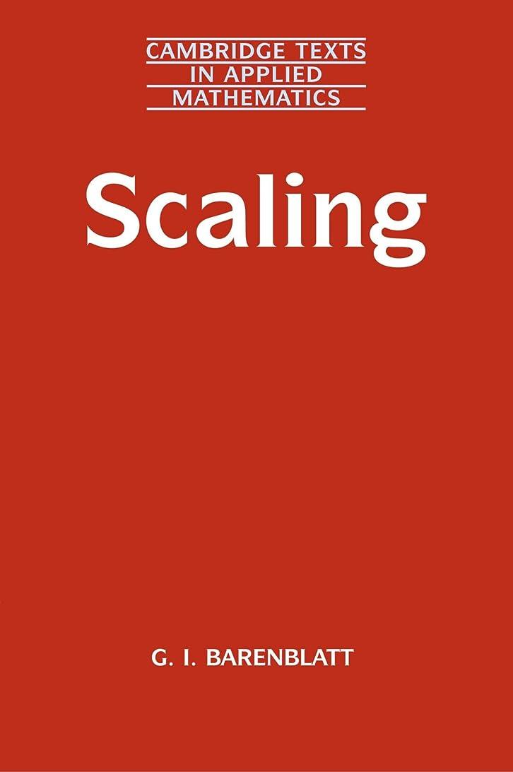 だらしない下着上院議員Scaling: Cambridge Texts in Applied Mathematics