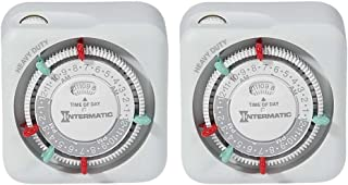 Intermatic TN311K-2PK Heavy Duty Indoor Timers, 2-Pack