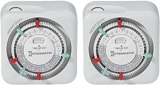 Intermatic TN311K-2PK Heavy Duty Indoor Timers, 2-Pack