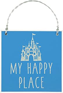 Parks Disney My Happy Place Ornament with Cinderella Castle