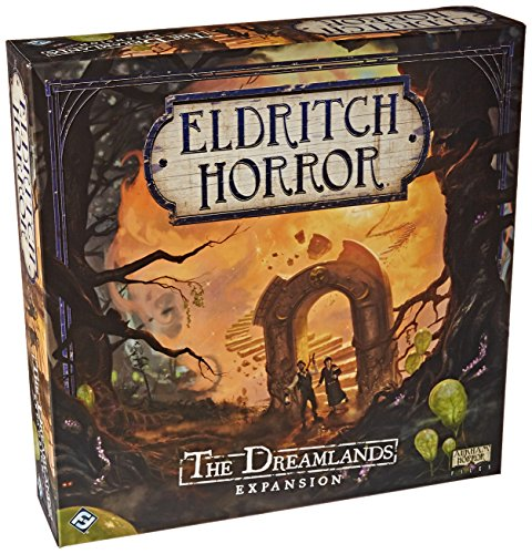 Fantasy Flight Games EH07 Eldritch Horror The Dreamlands Spiel, Mehrfarbig