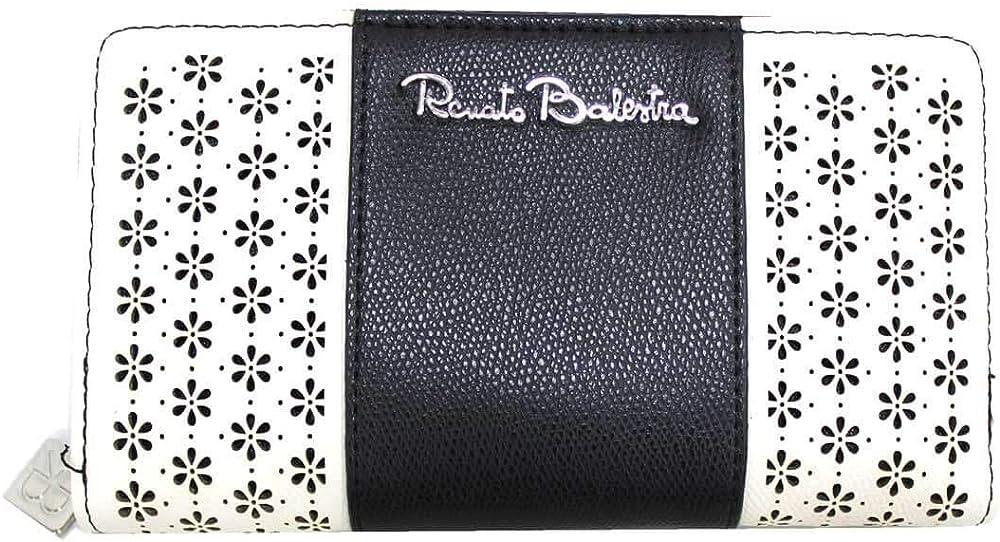 Renato balestra, portafoglio per donna,in similpelle morbida 508-67-BL 1
